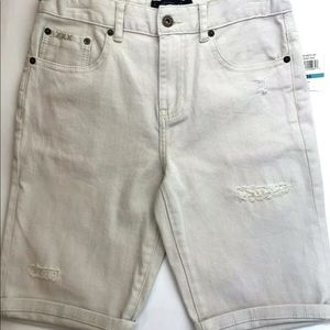 Lucky Brand Boys Distressed Denim Shorts